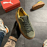 Женские кроссовки Puma Rihanna Suede Platform, женские кроссовки пума рианна сьюд (39 размер в наличии), фото 3