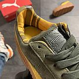 Женские кроссовки Puma Rihanna Suede Platform, женские кроссовки пума рианна сьюд (39 размер в наличии), фото 5