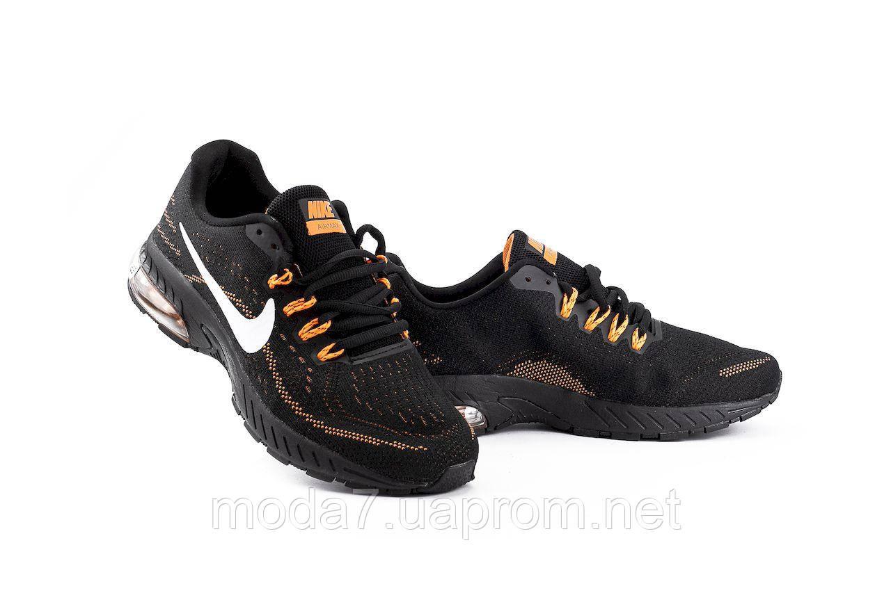 Мужские кроссовки текстильные весна/осень черные Classica G 5117 -4