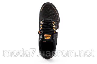 Мужские кроссовки текстильные весна/осень черные Classica G 5117 -4, фото 2