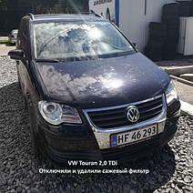 VW Touran 2,0 TDi