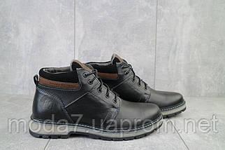 Мужские ботинки кожаные зимние черные Maxus KET 2, фото 2