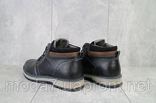 Мужские ботинки кожаные зимние черные Maxus KET 2, фото 3
