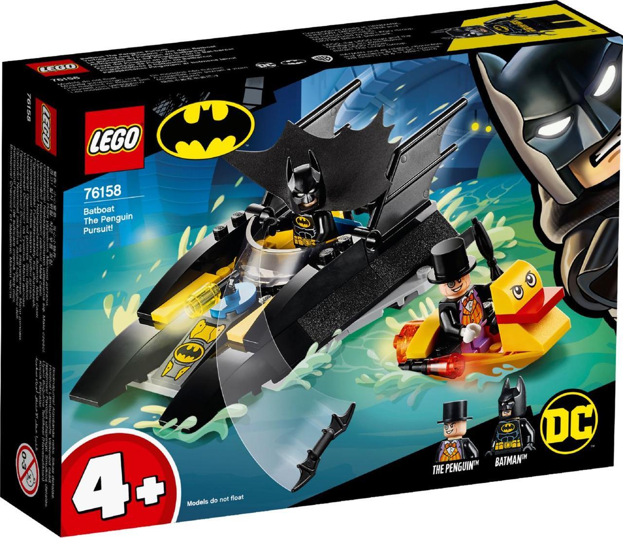 Lego Super Heroes Погоня за Пингвином на Бэткатере 76158