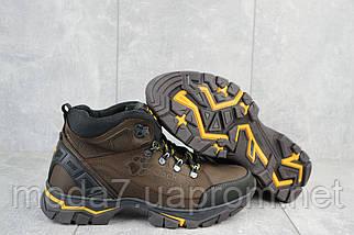 Мужские ботинки кожаные зимние коричневые AND 132 -6 Jack Wolf, фото 3