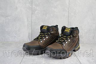 Мужские ботинки кожаные зимние коричневые AND 132 -6 Jack Wolf, фото 2