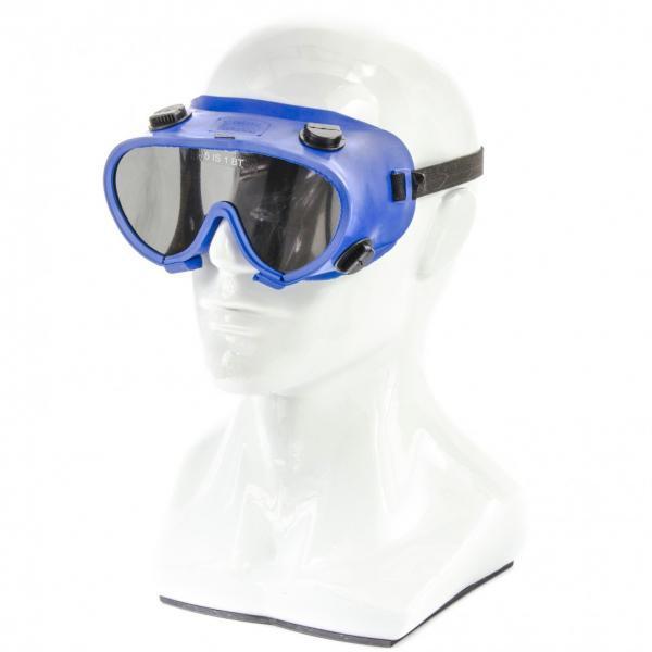 Окуляри захисні газозварника закритого типу, з непрямою вентиляцією, полікарбонат