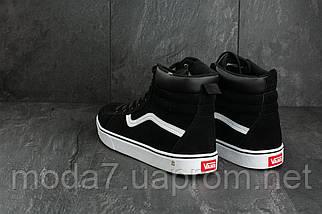 Мужские кеды замшевые зимние черные Classica AM 811 -5W, фото 2