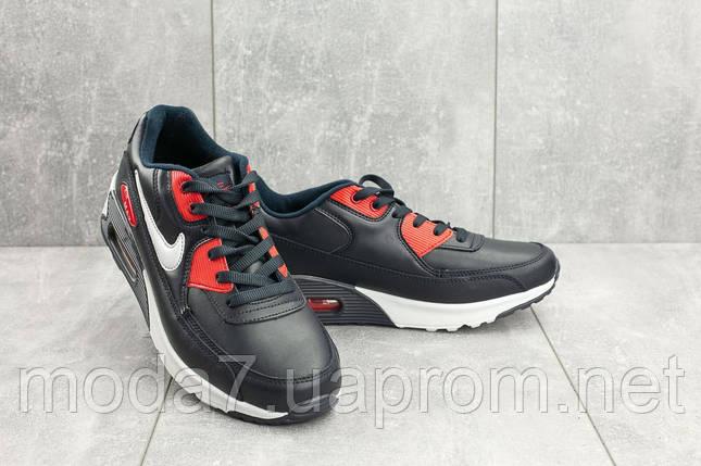 Мужские кроссовки искусственная кожа весна/осень синие Classica G 5056 -3, фото 2