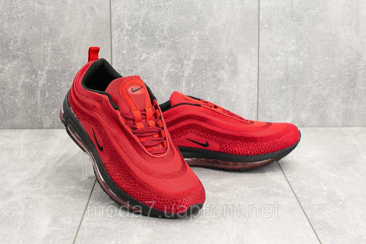 Мужские кроссовки текстильные весна/осень красные Ditof A 345 -8