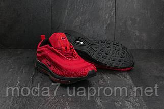 Мужские кроссовки текстильные весна/осень красные Ditof A 345 -8, фото 3