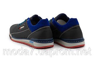 Мужские кроссовки кожаные весна/осень синие-голубые CrosSAV 39, фото 2