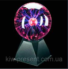 Плазменный шар Теслы 15 см, ночник , Plasma Light Magic Flash Ball, фото 2