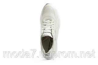 Женские кроссовки кожаные весна/осень белые Best Vak 16 -06, фото 3