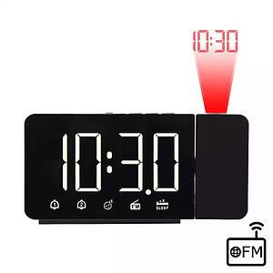 FanJu FJ3211 Проекційні годинники - будильник - радіо