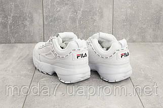 Женские кроссовки искусственная кожа весна/осень белые Baas B 1126 -4, фото 3