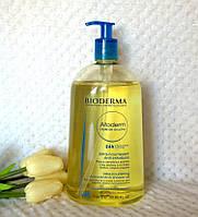 Масло для душа Биодерма Атодерм Bioderma Atoderm Shower Oil 1 литр. Оригинал.