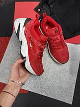 Женские кроссовки искусственная замша весна/осень красные Ditof В 1077 -5, фото 2
