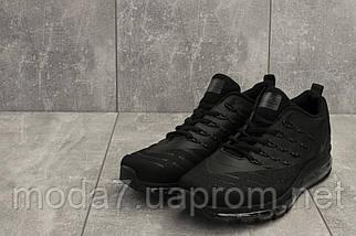 Мужские кроссовки текстильные весна/осень черные Classica G 5102 -6, фото 3