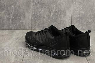 Мужские кроссовки текстильные весна/осень черные Classica G 5102 -6, фото 2