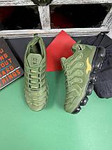 Мужские кроссовки текстильные весна/осень хаки Classica G 5113 -2, фото 3