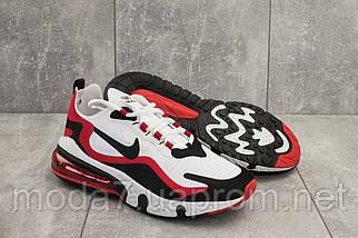 Мужские кроссовки текстильные весна/осень белые-красные Baas A 490 -4, фото 3