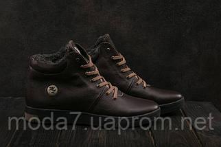 Мужские ботинки кожаные зимние коричневые Milord Olimp B, фото 2