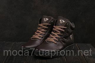 Мужские ботинки кожаные зимние коричневые Milord Olimp B, фото 3