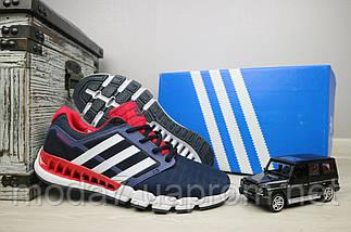 Мужские кроссовки текстильные весна/осень синие Classica G 5075 -1, фото 3