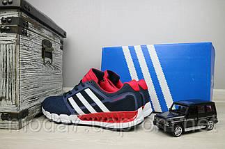 Мужские кроссовки текстильные весна/осень синие Classica G 5075 -1, фото 2