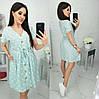 Платье в горох летнее женское (ПОШТУЧНО) M/42-44