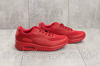 Мужские кроссовки искусственная кожа летние красные Classica G 5082 -3, фото 3