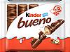 Шоколадний батончик Kinder Bueno 129 г