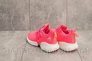 Женские кроссовки текстильные весна/осень розовые Ditof B 18125 -3, фото 3