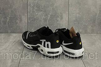 Мужские кроссовки текстильные весна/осень черные-белые Aoka A 730 -7, фото 2