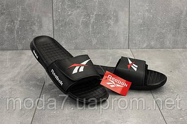 Мужские шлепанцы резиновые летние черные Classica G 6503 -2