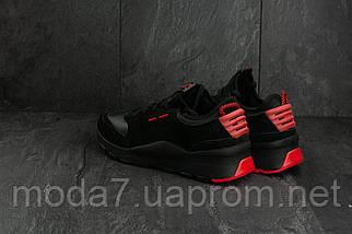 Мужские кроссовки замшевые весна/осень черные Baas A 315 -11, фото 3