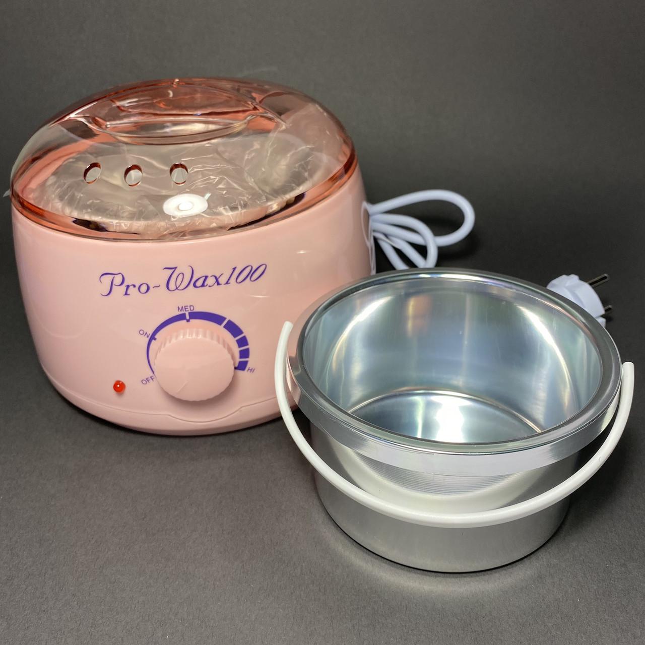 Воскоплав баночный Pro-Wax 100 розовый