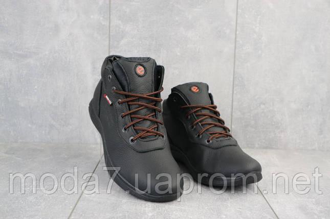 Мужские кроссовки кожаные зимние черные Yavgor 635, фото 2