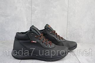 Мужские кроссовки кожаные зимние черные Yavgor 635, фото 3