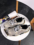 Женские кроссовки Balenciaga Triple S Vanille, женские кроссовки баленсиага трипл с, кроссовки баленсияга, фото 7
