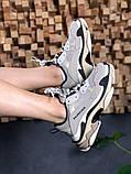 Женские кроссовки Balenciaga Triple S Vanille, женские кроссовки баленсиага трипл с, кроссовки баленсияга, фото 2