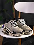 Женские кроссовки Balenciaga Triple S Vanille, женские кроссовки баленсиага трипл с, кроссовки баленсияга, фото 6