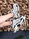 Женские кроссовки Balenciaga Triple S Vanille, женские кроссовки баленсиага трипл с, кроссовки баленсияга, фото 3
