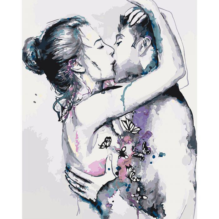 Картина по номерам Страсть, 40x50 см Идейка
