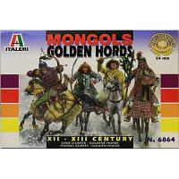 Монгольская кавалерия. Восемь фигур в масштабе 1/32. ITALERI 6864