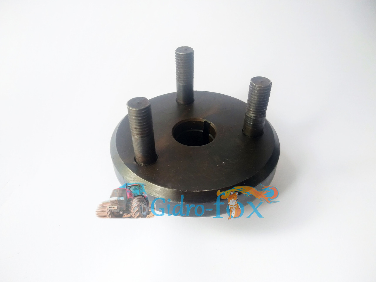 Фланец привода ТНВД МТЗ Д-243, Д-245 (со шпильками) диаметр 25 мм Кт.Н. 245-1006320-Г