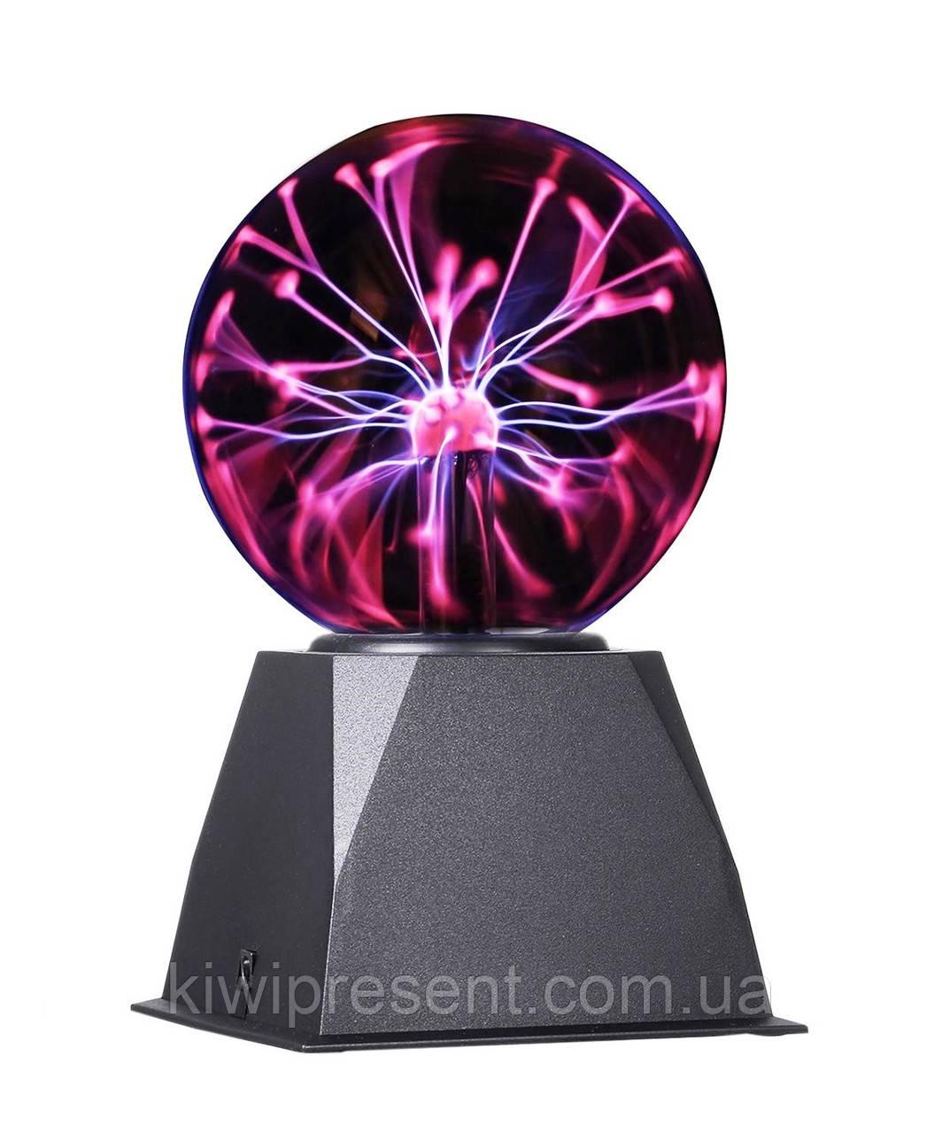 Плазменный шар Теслы, ночник 13 см, Plasma Light Magic Flash Ball