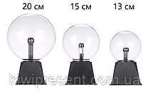Плазменный шар Теслы, ночник 13 см, Plasma Light Magic Flash Ball, фото 2