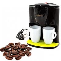 Капельная кофеварка Crownberg CB-1560 на 2 чашки 600 Вт